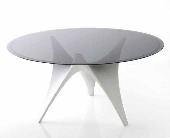 手绘创意桌椅三视图